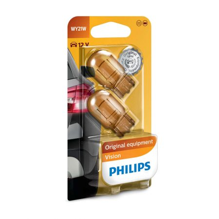 Becuri semnalizare WY21W Philips Vision, 12V, 21W