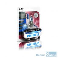 Bec far camion H3 Philips Master Duty Blue Vision, 24V, 70W, 13336MDBVB1