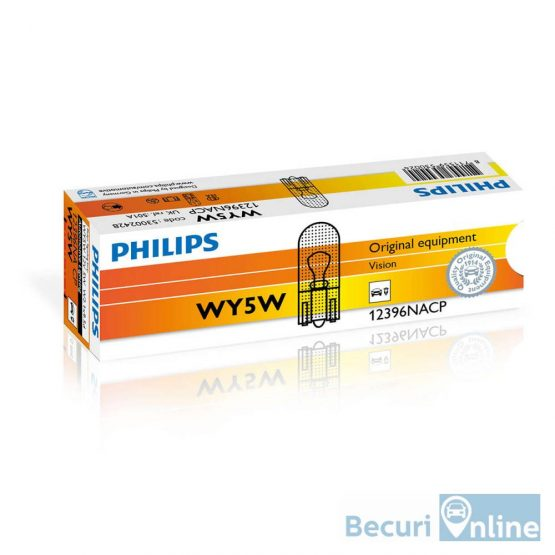 Becuri semnalizare WY5W Philips Vision, 12V, 5W