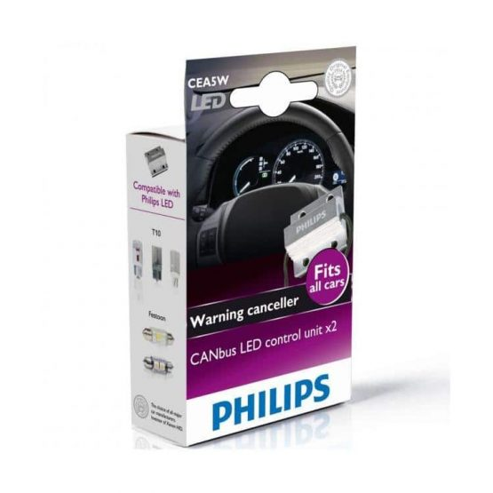 Anulatoare eroare LED Philips CANbus LED Control, 12V, 5W