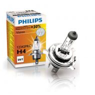 Bec auto halogen H4 Philips Vision, 12V, 60/55W - Cutie 1 bec