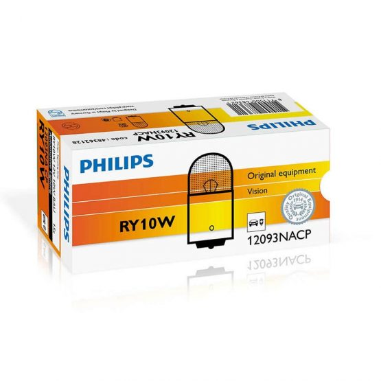 Becuri semnalizare RY10W Philips Vision, 12V, 10W