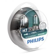 Becuri far Philips H7 Xtreme Vision +130, 12V, 55W