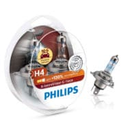 Set 2 becuri auto Philips H4 X-tremeVision G-force +130, 12 V, 55/60 W