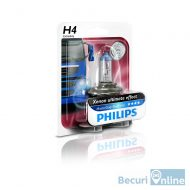 Bec far camion H4 Philips Master Duty Blue Vision, 24V, 75/70W