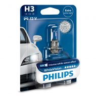 Bec far H3 Philips White Vision, 12V, 55W, Blister 1 bec
