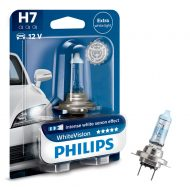 Bec far Philips H7 White Vision, 12V, 55W, blister 1 bec