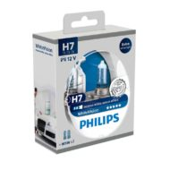 Becuri far Philips H7 White Vision, 12V, 55W